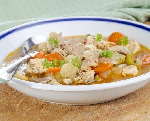 Hähnchen-Zitronen-Suppe