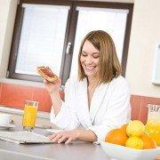 Ohne Ablenkung essen ist gesünder