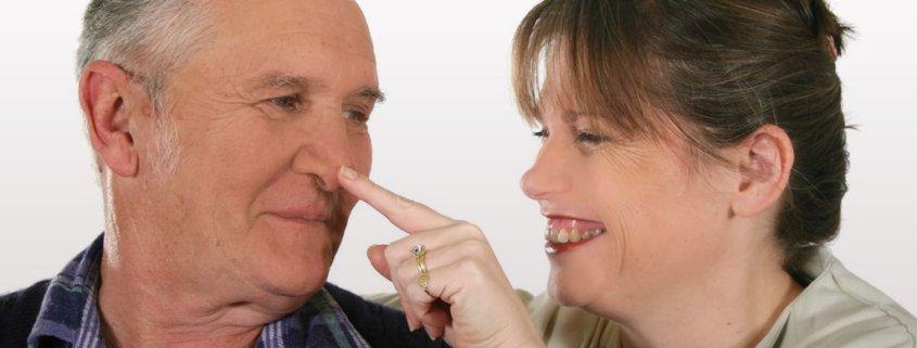 Fass Dir selber an die Nase