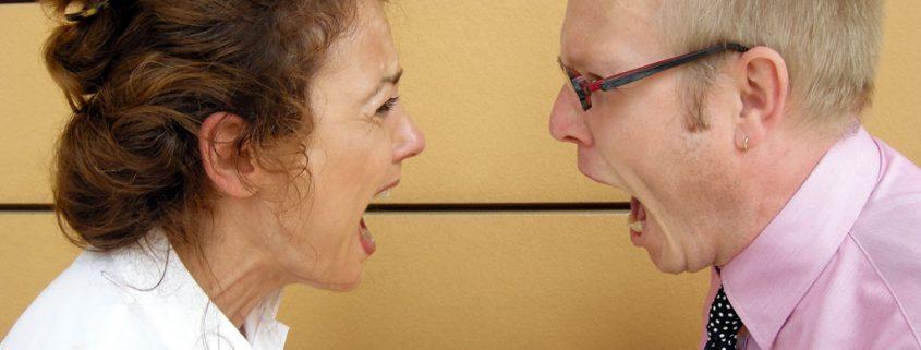 Lautstarke Konflikte als Beziehungsstil